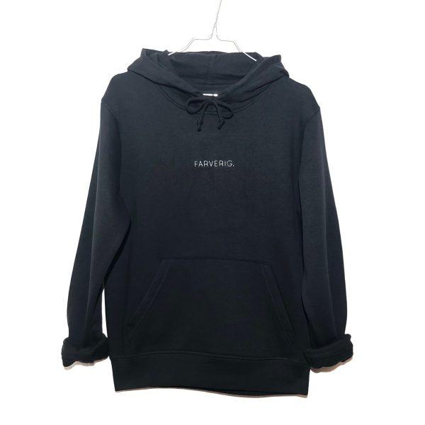Organic Oversize Basic Hoodie - schwarz