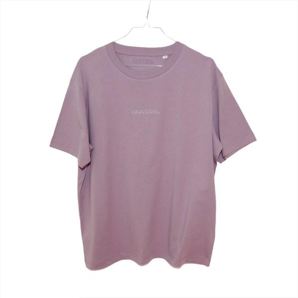 Organic Oversize Basic Shirt - Antique Purple