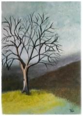 akrylmaleri 30 - 40 - 4 cm