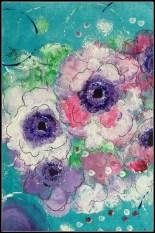 Abstrakte blomster