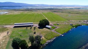 The Island Ranch attracts thousands of migratory waterfowl and is known for its trout fishing and larger game.