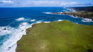 Oceanfront Peninsula is ideal for building a site as a private family compound. ThisCoastal region has incredible vistas along the rugged coastline.