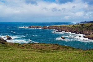 Bold Oceanfront Peninsula is an Ideal building site for private family compound.