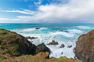 Bold Oceanfront Peninsula is known locally as Albion Coastal Headlands.