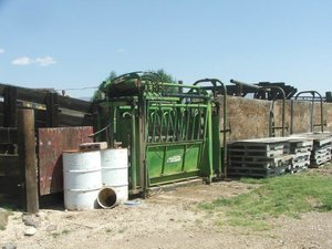 Disaster Peak Cattle Ranch has haying and ranching equipment are included in sale.