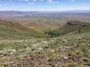 Disaster Peak Cattle Ranch has water rights, contiguous deeded and leased group, mineral rights.