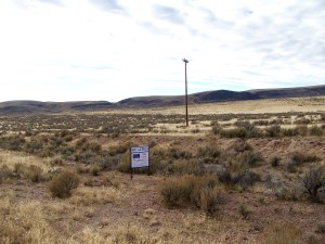The McDermitt 407-acre property has easy access with County Line Rd running through the eastern portion of the land.