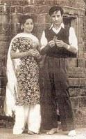Amrita Pritam with Imroz