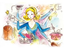Sabir Nazar Cartoon women-5