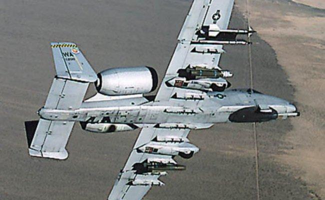 A 10 Oa 10 Thunderbolt Ii Military Aircraft