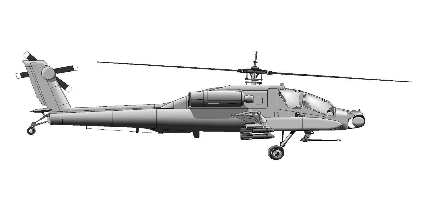 hight resolution of ah 64a apache multi mission configurations