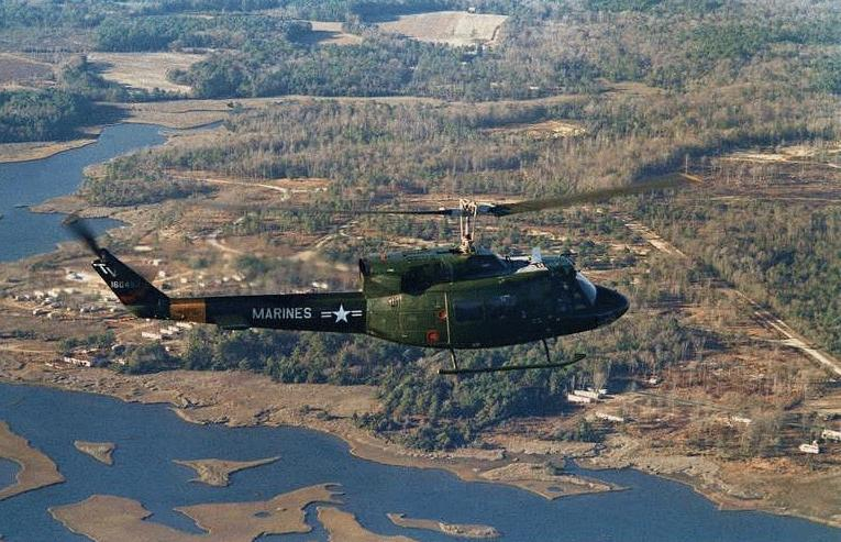 UH1 Huey Helicopter  Military Aircraft