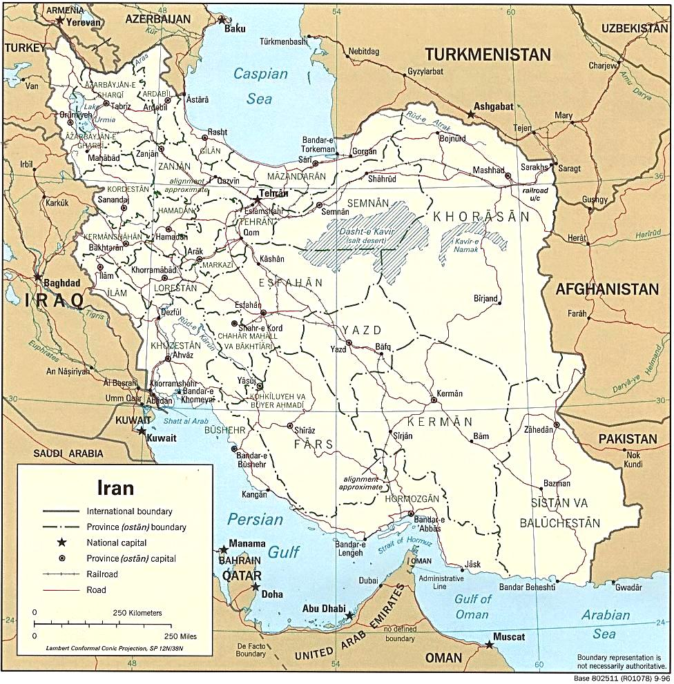 Maps  Iran Special Weapons Facilities