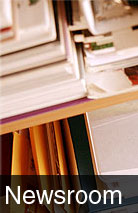 photo of papers in a cabinet