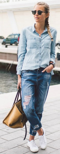 Coolest women denim trends idea (100)
