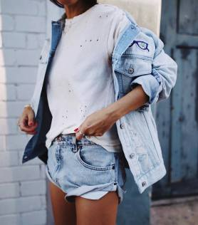 Coolest women denim trends idea (44)