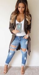 Coolest women denim trends idea (59)