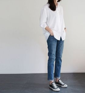 Coolest women denim trends idea (61)