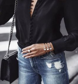 Coolest women denim trends idea (62)
