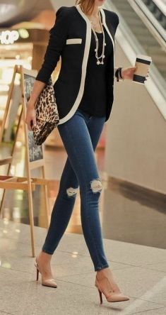 Coolest women denim trends idea (75)