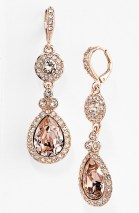 Earrings diamond wedding brides (138)