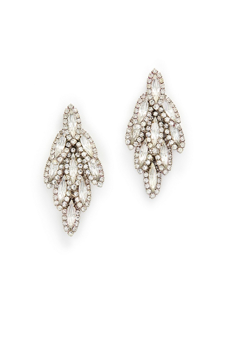 Earrings diamond wedding brides (36)