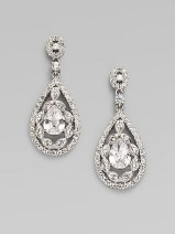 Earrings diamond wedding brides (54)