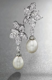 Earrings diamond wedding brides (84)