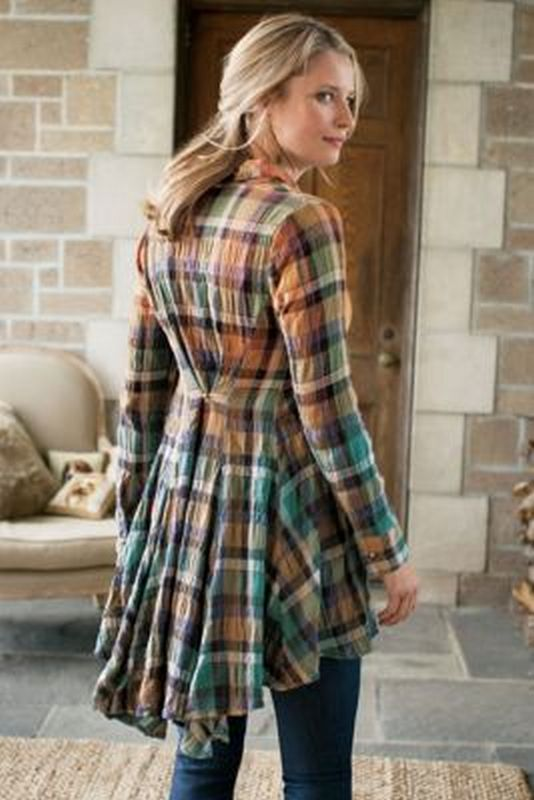 Ways to wear flanel for women (111)