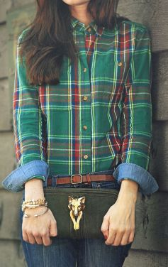 Ways to wear flanel for women (117)