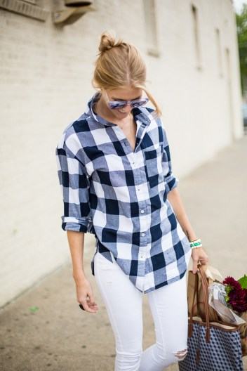 Ways to wear flanel for women (124)