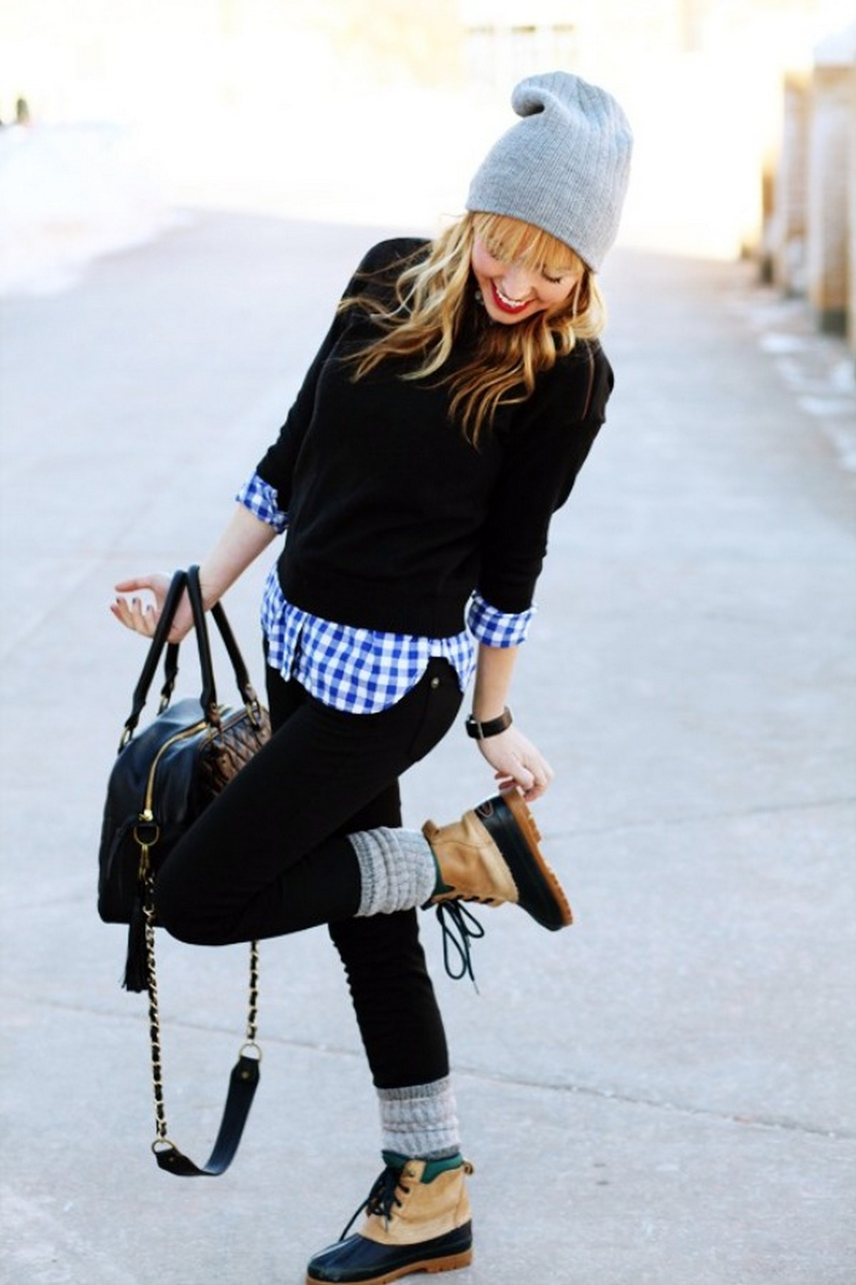 Ways to wear flanel for women (126)