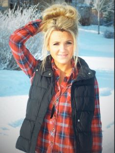 Ways to wear flanel for women (128)