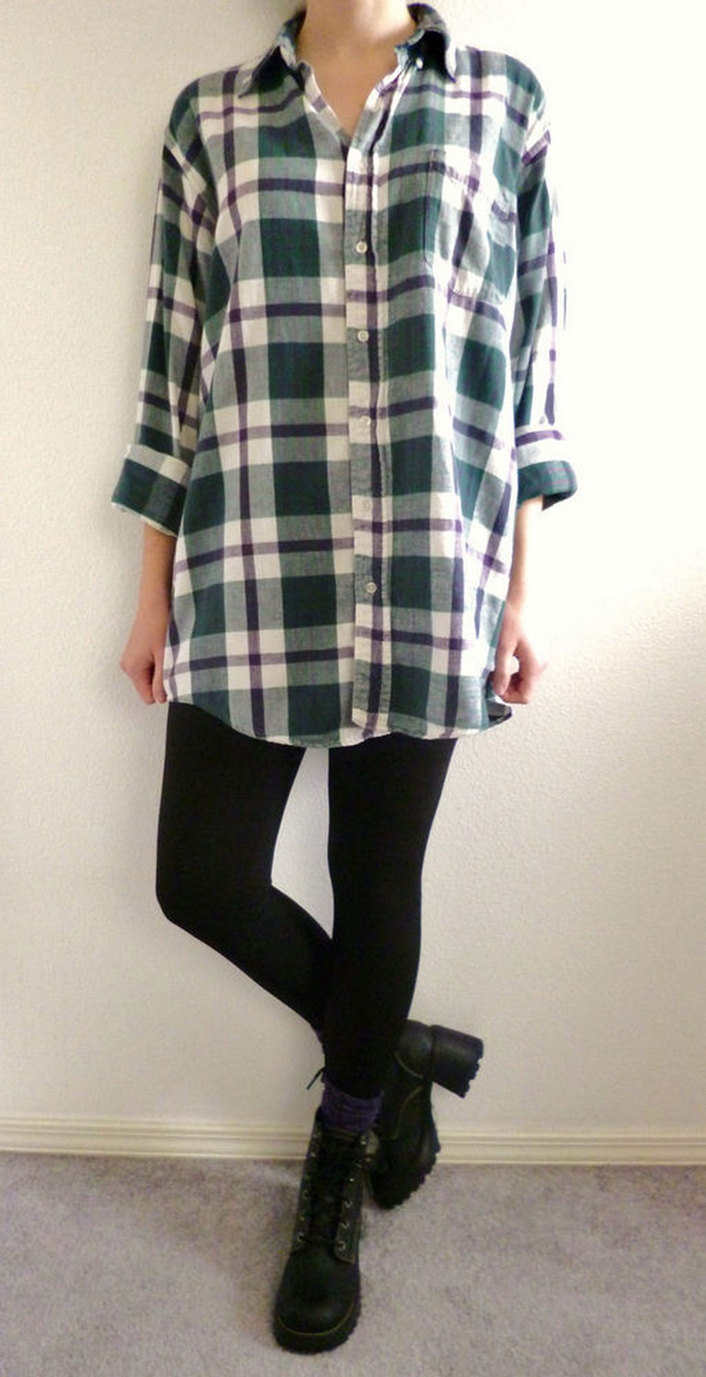 Ways to wear flanel for women (129)