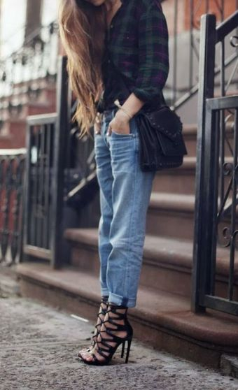 Ways to wear flanel for women (13)