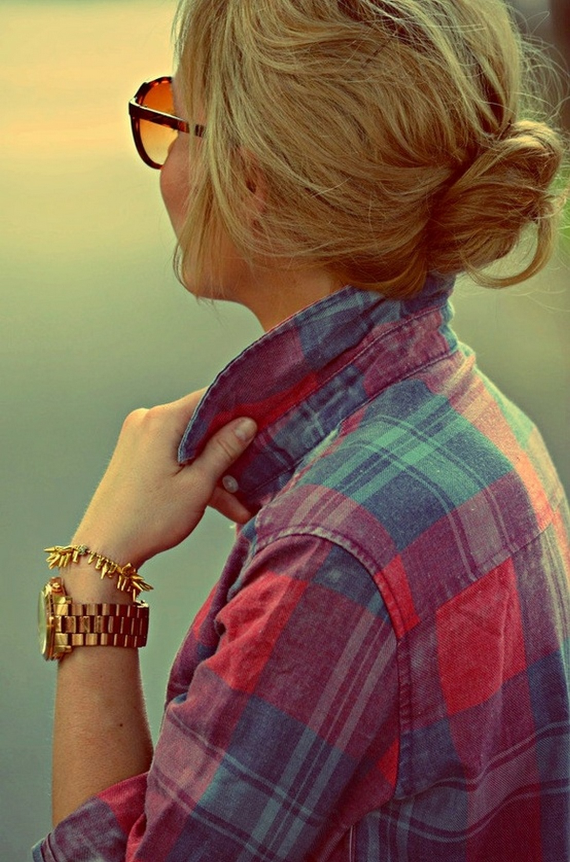 Ways to wear flanel for women (16)