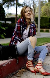 Ways to wear flanel for women (2)