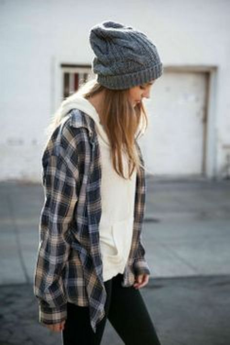 Ways to wear flanel for women (33)