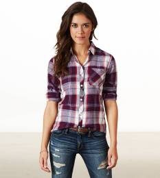 Ways to wear flanel for women (40)