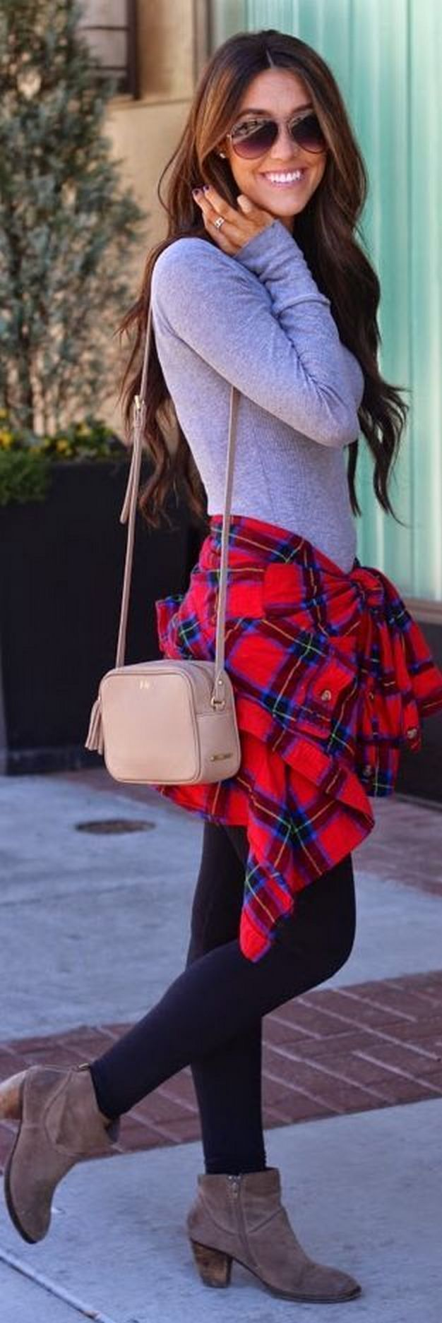 Ways to wear flanel for women (42)