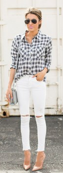 Ways to wear flanel for women (52)
