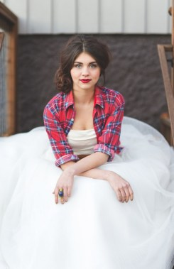 Ways to wear flanel for women (58)