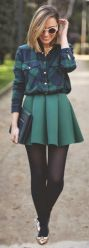 Ways to wear flanel for women (64)