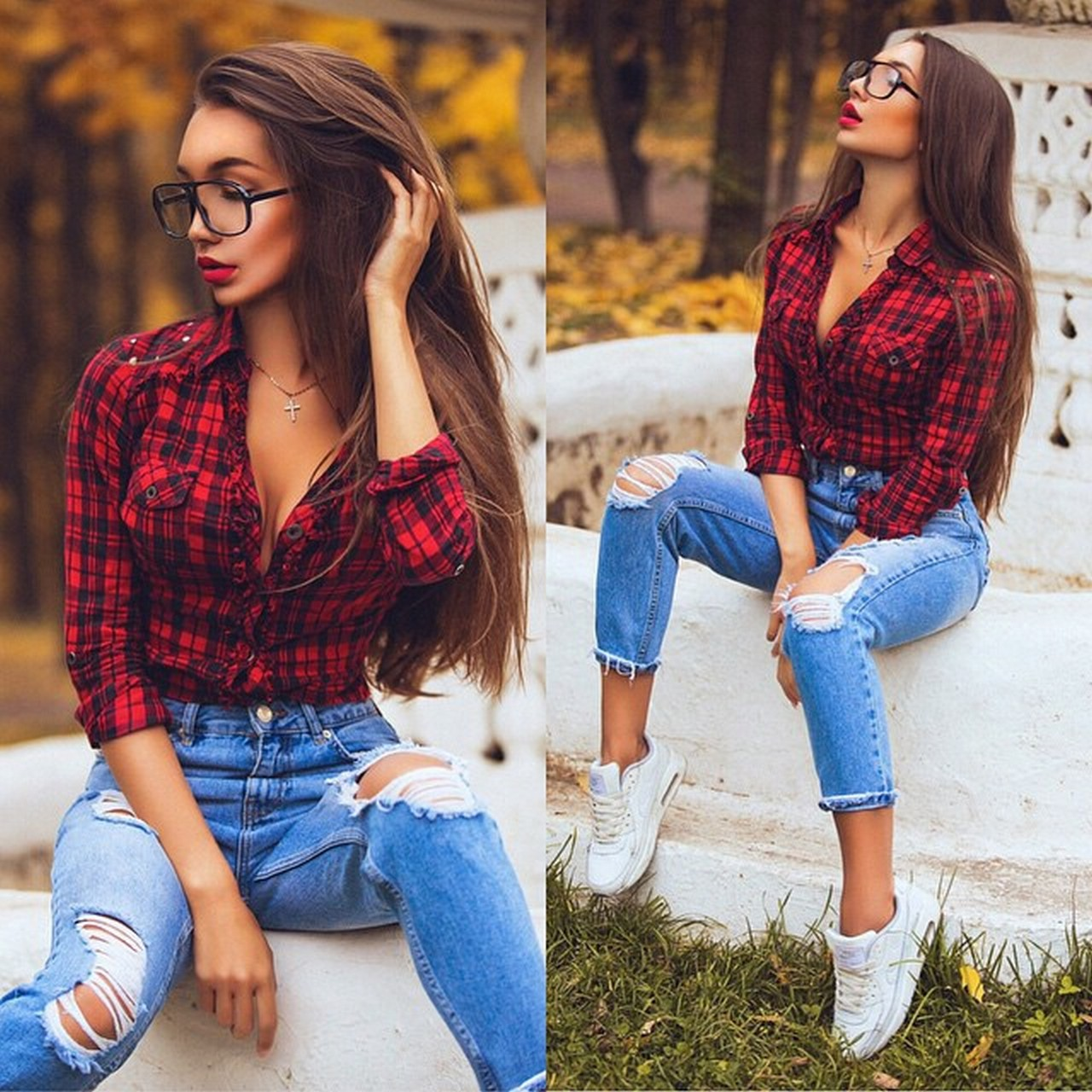 Ways to wear flanel for women (66)