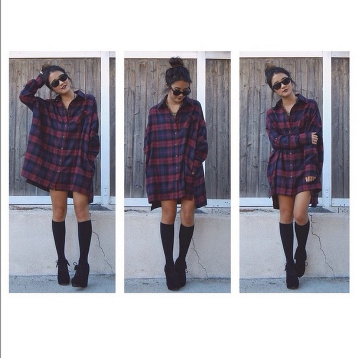 Ways to wear flanel for women (87)