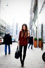 Ways to wear flanel for women (89)