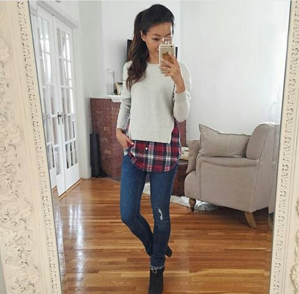 Ways to wear flanel for women (98)