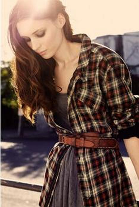 Ways to wear flanel for women (99)