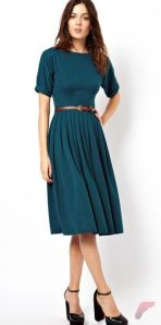 Awsome casual midi dress139