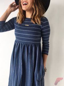 Awsome casual midi dress141
